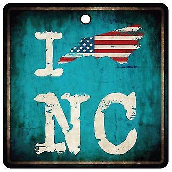 Я люблю Северная Каролина Тар Каблуки государственный автомобилей освежитель воздуха