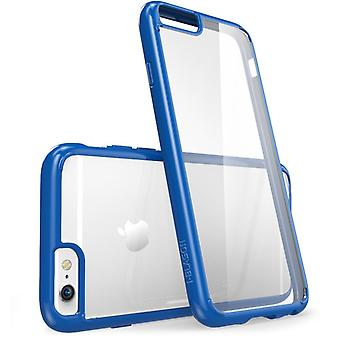 i-Blason Apple iPhone 6 / 6S Plus 5.5 Case - Halo Series - Clear Navy