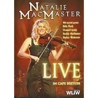 Natalie Macmaster - Live på Cape Breton [DVD] USA import