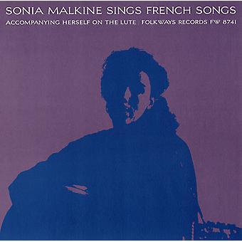 Sonia Malkine - Sonia Malkine Sings French Folk Songs [CD] USA import