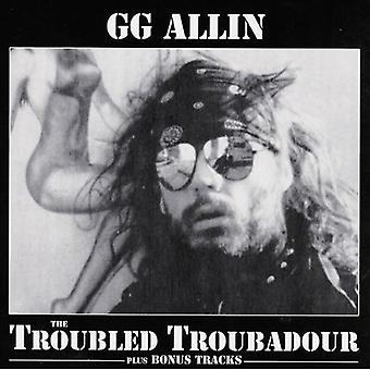 Gg Allin - urolige Troubadour [CD] USA import