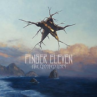 Finger Eleven-fem skæve linjer [CD] USA import