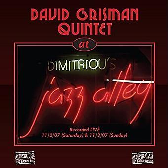 David Grisman Quintet, -Live at Jazz Alley [CD] USA import
