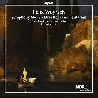 Woyrsch / Oldenburgisches staat orkest / Dorsch - Symfonie No. 3 [CD] USA import