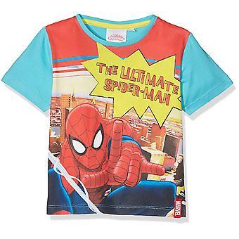 Marvel Spiderman drenge kort ærmet T-Shirt