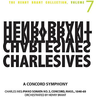 Henry Brant - Charles Ives: A Concord Symphony [CD] USA import