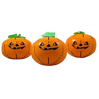 Pumpkin inflatable 3 set decoration Halloween Pumpkin Aufblasen pumpkin 15 cm