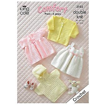 King Cole Comfort- Prem-4 Years Girls Clothes