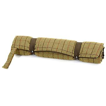 Tweedmill Tweed Travel Dog Bed With Waterproof Base - 922/Chocolate