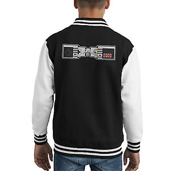 NESted Game Console Controllers Kid's Varsity Jacket