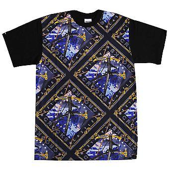 Oplichters & kastelen bergbeklimmer T-Shirt blauw