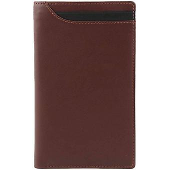 Dents Smooth Leather Pocket Wallet - English Tan
