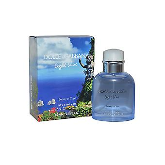 Dolce & Gabbana Light Blue Beauty of Capri Pour Homme Eau de Toilette Spray 75ml