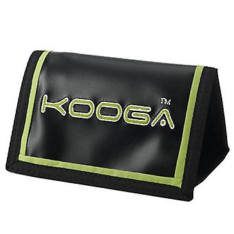 KOOGA rugby velcro rip wallet [black/lime]