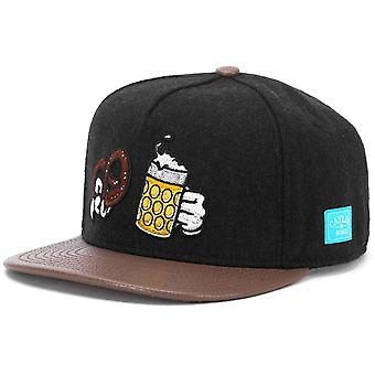 Cayler & sons Snapback OKTOBERFEST Cap - toast dark grey / brown