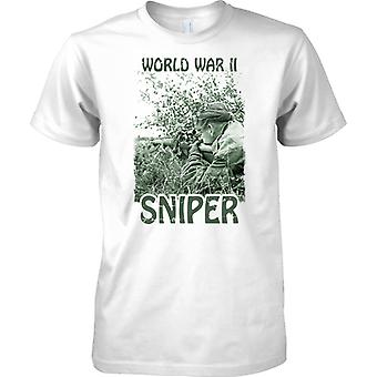 World War II Sniper - Silent Killers - Kids T Shirt