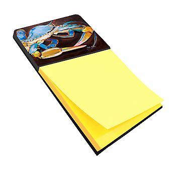كارولين JMK1090SN الكنوز السلطعون الأزرق Sticky Note حامل