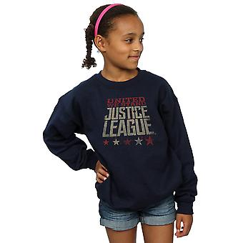 DC Comics flickor Justice League film enade vi stå Sweatshirt