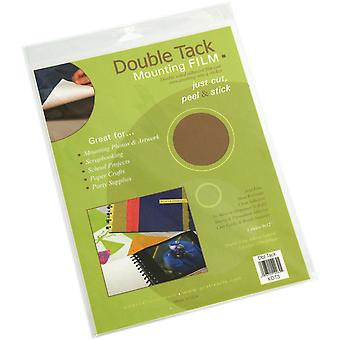 Archival Double Tack Mounting Film 9