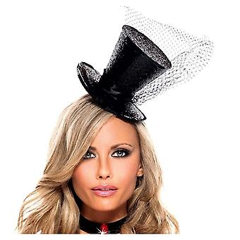 Ser malvado BW1061 Sparkle Top Hat