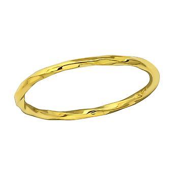 Verdreht - 925 Sterling Silber Plain Ringe
