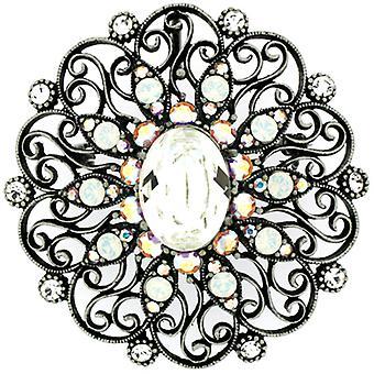 Broschen speichern Swarovski Kristall viktorianischen Blume Brosche Anhänger