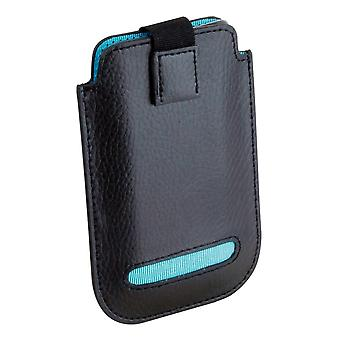 Leather Eclipse iPhone 4/4S Pouch Case Turquoise