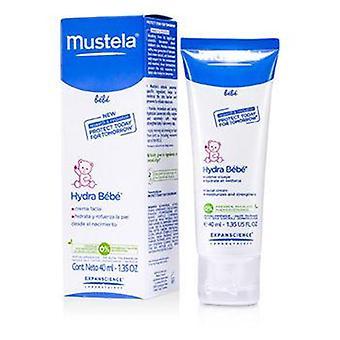 Mustela Hydra-bebe Facial Cream - Normal Skin - 40ml/1.35oz