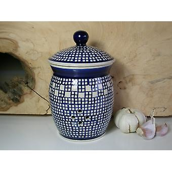 Knoflook pot, 1 liter, ↑18 cm, Ø 12 cm, traditie 64, BSN 40077