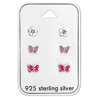 Butterfly - 925 Sterling Silver Sets - W28481x