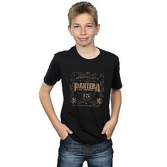 Pantera jongens 101 bewijs Live T-Shirt