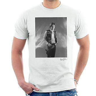 Star Wars Behind The Scenes Han Solo White Men's T-Shirt