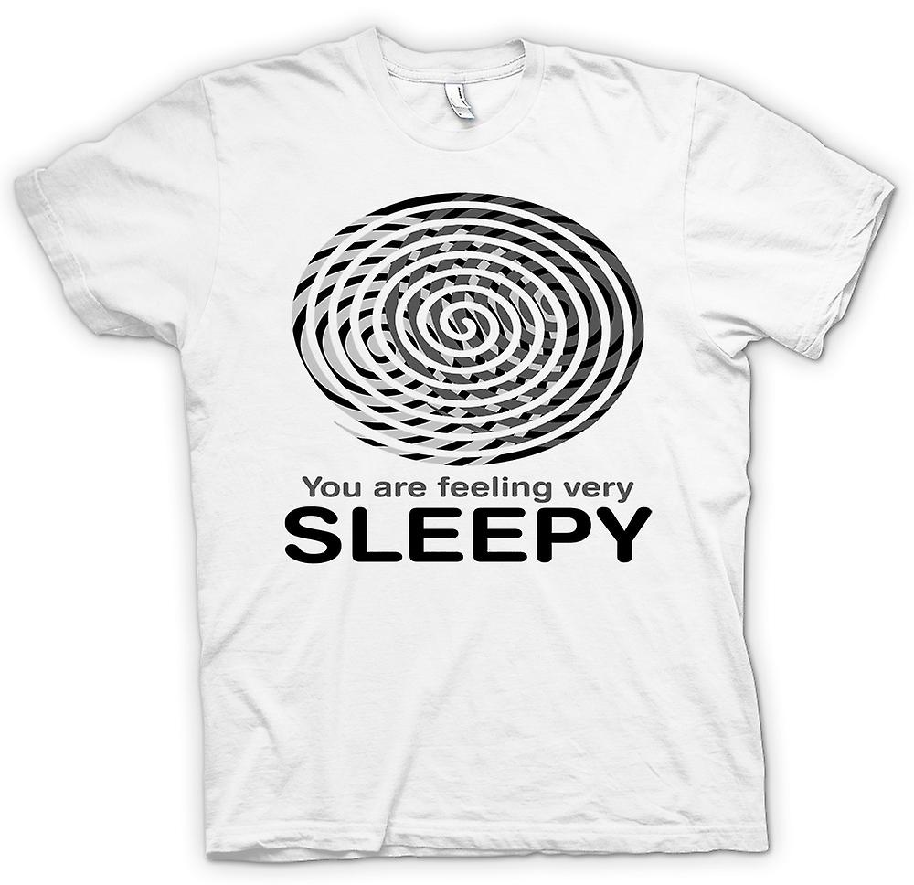 Womens T-shirt - You Are Feeling Very Sleepy - Funny