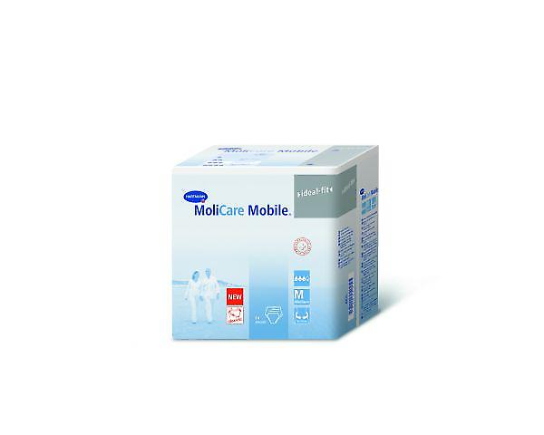 Molicare Mobile Xl - Unisex Pull-up Pants For Severe Incontinence - Pack Of 14