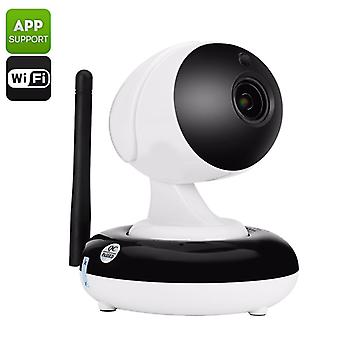 HD IP Camera &  Baby Monitor - FHD Resolutions, Motion Detection, Pan & Tilt, Two Way Audio, App Support, Push Alerts