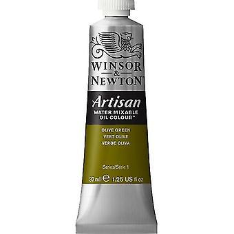 Winsor & Newton Artisan vatten blandbart olja färg 37ml (447 olivgrön S1)