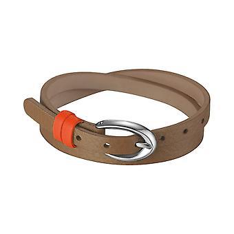 ESPRIT женщин кожаный браслет нержавеющая сталь Рио карамель коричневый ESBR11336A380