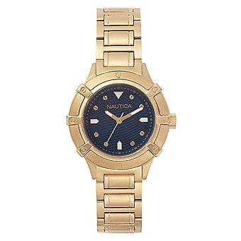 Nautica ladies watch bracelet watch NAPCPR005 stainless steel