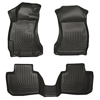 Husky Liners Front & 2nd Seat Floor liner passer 13-14 Legacy/Outback