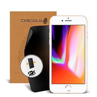 Celicious Privacy 2-Way Visual Black Out Screen Protector for Apple iPhone 8 Plus