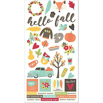 Simple Sets Happy Harvest Cardstock Stickers 6