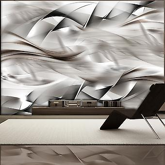 Behang - abstracte vlecht