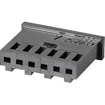 TE Connectivity 280358 Socket enclosure - cable AMPMODU MOD II Total number of pins 2 Contact spacing: 2.54 mm 1 pc(s)