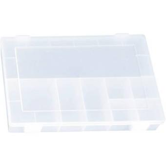 Alutec Assortment box (L x W x H) 335 x 225 x 55 mm No. of compartments: 8 fixed compartments
