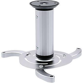 SpeaKa Professional Projektor Beamer Decke Mount Tiltable, drehbare Max. Abstand zum Boden/Decke: 20 cm Silber