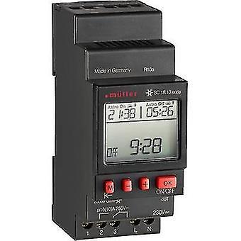 Müller SC 18.13 fácil NFC DIN rail montaje temporizador 230 V 16 A/250 V