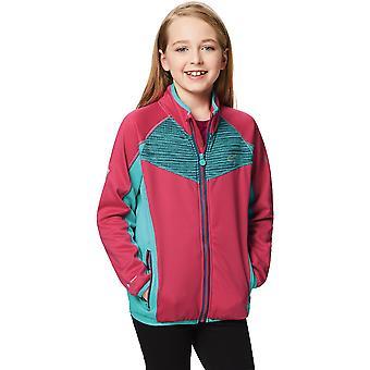 Regatta Boys & Girls Oberon Knitted Strech Full Zip Casual Jacket