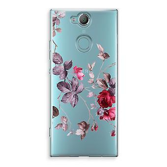 Sony Xperia XA2 Transparent Case (Soft) - Pretty flowers