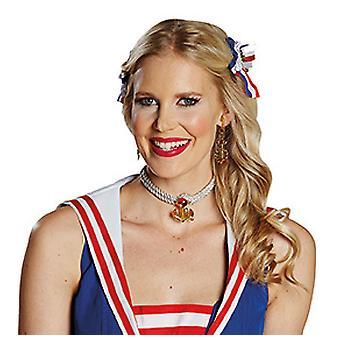 Sailor chain golden anchor accessory Carnival Mardi sailor