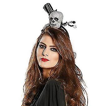 Crazy skull headband